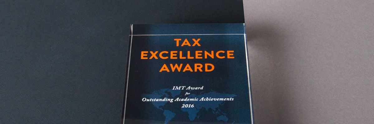 IMT Tax Excellence Award