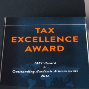 IMT Tax Excellence Award 2016